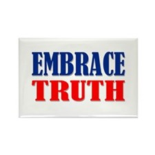"""Embrace Truth"" Rectangle Magnet"