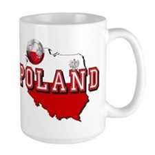 Polish Flag Map Mug
