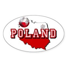 Polish Flag Map Decal
