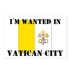I'm Wanted In Vatican City Postcards (Package of 8