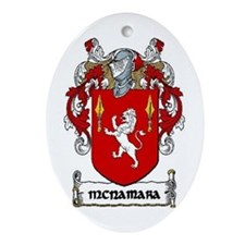 McNamara Coat of Arms Keepsake Ornament