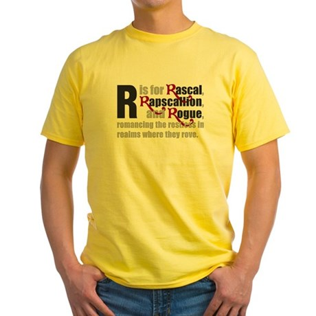 R is for Rascal Yellow T-Shirt