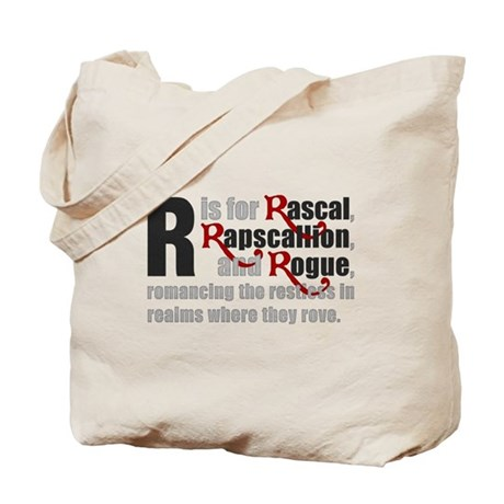 R is for Rascal Tote Bag