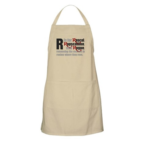 R is for Rascal BBQ Apron