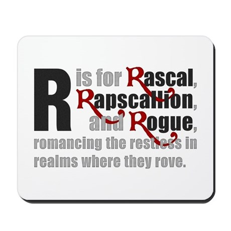 R is for Rascal Mousepad