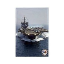 USS Enterprise CVN-65 Rectangle Magnet (10 pack)