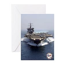 USS Enterprise CVN-65 Greeting Cards (Pk of 10)