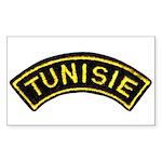 Tunisia Legion Rectangle Sticker
