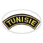 Tunisia Legion Oval Sticker