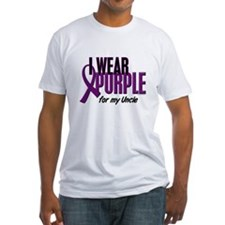 I Wear Purple For My Uncle 10 Shirt