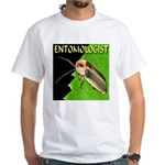 Entomologist White T-Shirt