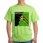 Entomologist Green T-Shirt