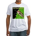 Entomologist Fitted T-Shirt