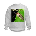 Entomologist Kids Sweatshirt