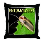 Entomologist Throw Pillow
