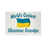 Coolest Ukrainian Grandpa Rectangle Magnet