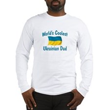 Coolest Ukrainian Dad Long Sleeve T-Shirt