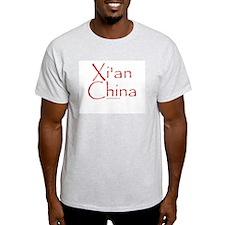 Xi'an China - Ash Grey T-Shirt