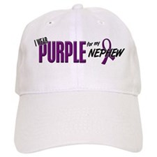 I Wear Purple For My Nephew 10 Cap