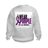 I Wear Purple For My Nephew 10 Sweatshirt
