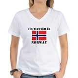 I'm Wanted In Norway Shirt