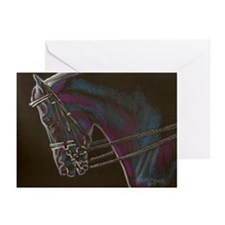 Black Morgans Greeting Cards (Pk of 20)
