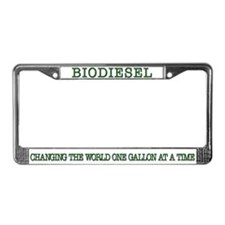 Biodiesel License Plate Frame