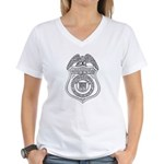 Watchman U.S.L.H.S. Women's V-Neck T-Shirt