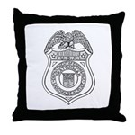 Watchman U.S.L.H.S. Throw Pillow