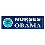 Nurses for Obama Bumper Stickers