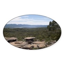 Grampians Oval Sticker (50 pk)