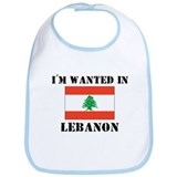 I'm Wanted In Lebanon Bib
