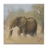 Wildlife Tile Coaster - Sadie