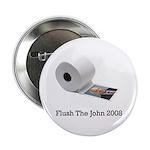 "Flush The John 2.25"" Button (10 pack)"