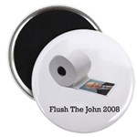 Flush The John Magnet