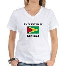 I'm Wanted In Guyana Shirt