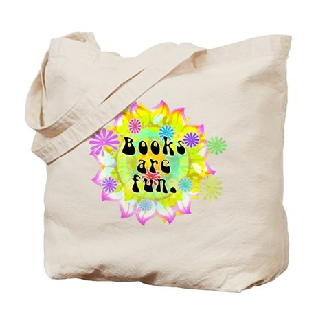 Books Are Fun Tote Bag