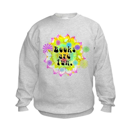 Books Are Fun Kids Sweatshirt