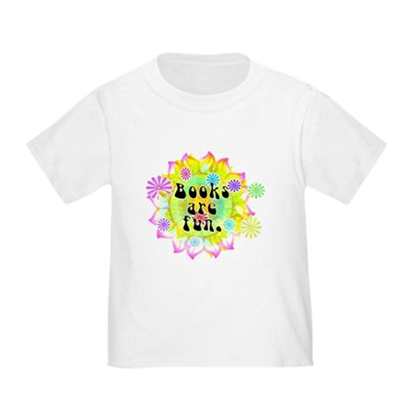 Books Are Fun Toddler T-Shirt
