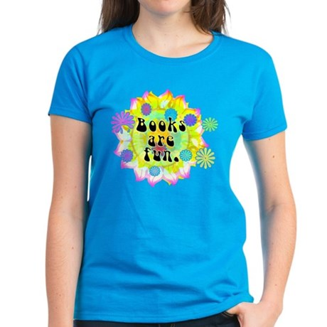 Books Are Fun Women's Dark T-Shirt