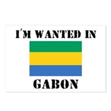 I'm Wanted In Gabon Postcards (Package of 8)