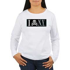 I Hate New York Women's Long Sleeve T-Shirt