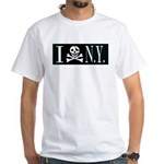 I Hate New York White T-Shirt