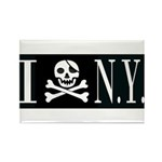 I Hate New York Rectangle Magnet (100 pack)