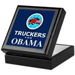 Truckers for Obama Keepsake Box