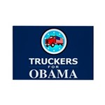 Truckers for Obama Rectangle Magnet (100 pack)