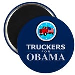 Truckers for Obama 2.25&quot; Magnet (10 pack)