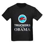 Truckers for Obama Kids Dark T-Shirt
