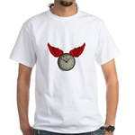 TIME FLIES White T-Shirt