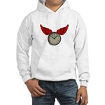 TIME FLIES Hooded Sweatshirt